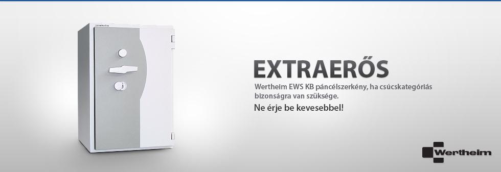 Wertheim EWS KB páncélszekrény