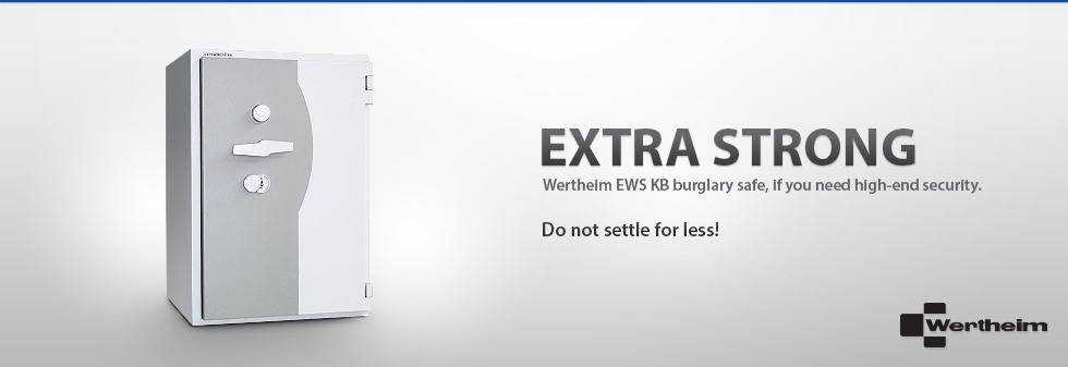 Wertheim EWS KB burglary safe