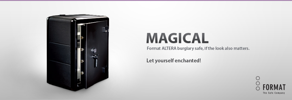 Format ALTERA unique burglary safe
