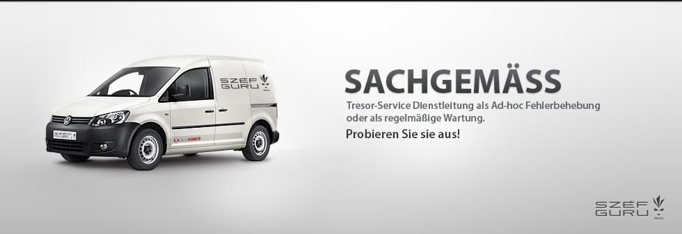 SAFEGURU Tresor-Service Dienstleistung